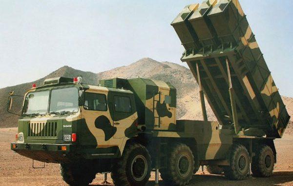 راجمات الصواريخ الموجهة WS-2D الصينية