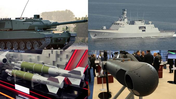 لقطة لصناعات الدفاع التركية (ترك برس)