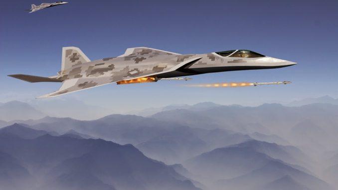 نموذج متوقّع لمقاتلة الجيل السادس الأميركية F-X
