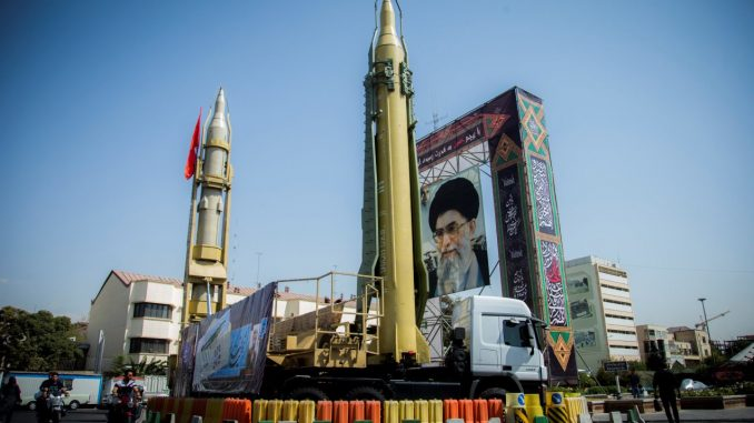 منظومة صاروخية إيرانية