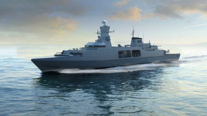 تصميم سفينة Type 31e من شركة بي أي إي سيستمز