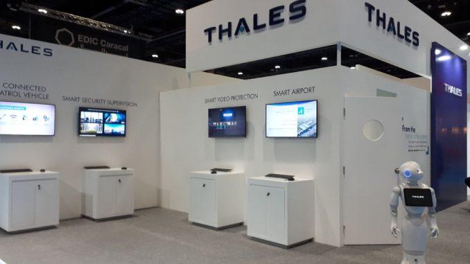 """منصة عرض شركة """"تاليس"""" في عرض ISNR أبو ظبي في 7 آذار/ مارس"""