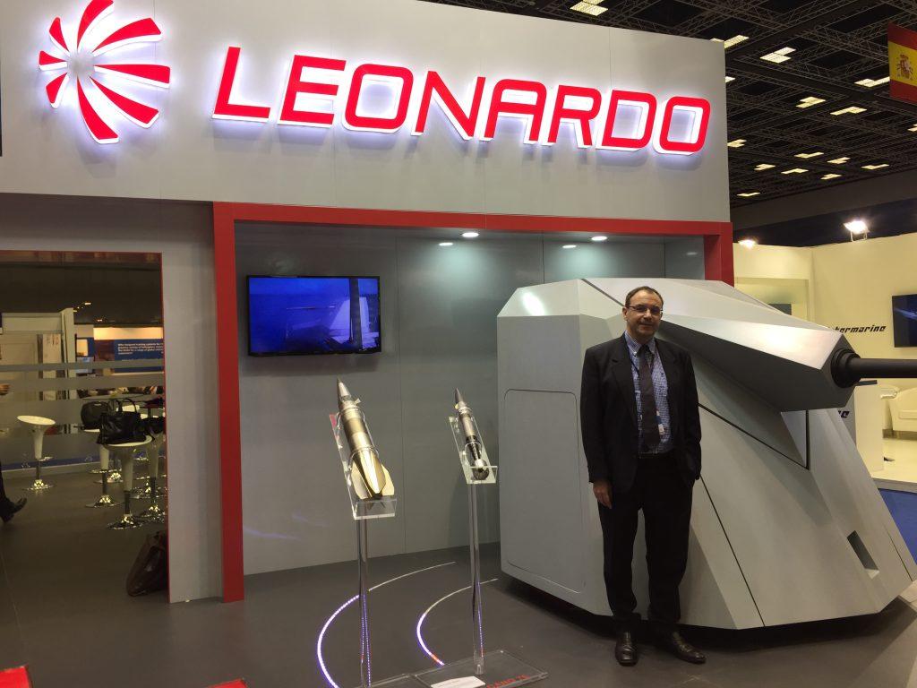 """السيد ماسيمو غوالكو، من قسم التسويق والمبيعات أنظمة الدفاع لدى """"ليوناردو"""""""