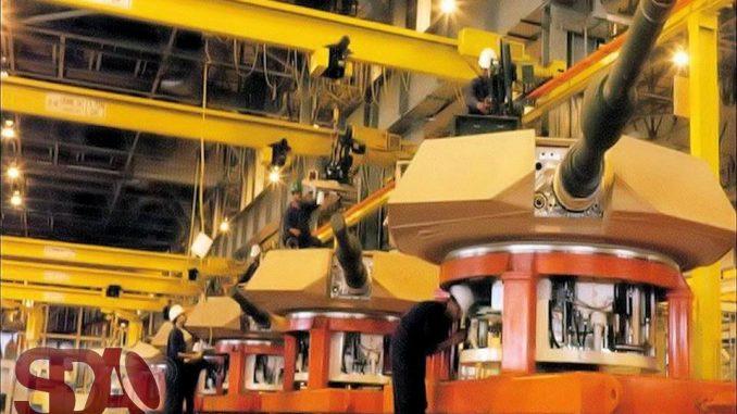لقطة لمصنع 200 الحربي المصري لإنتاج وإصلاح المدرعات (صورة خاصة)