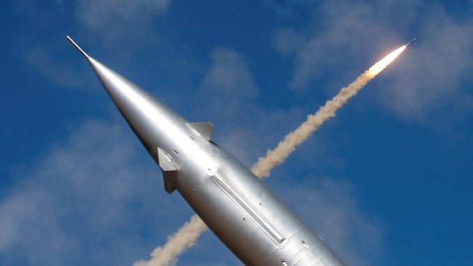 صورة لإطلاق صاروخ فرط صوتي ( صورة أرشيفية)