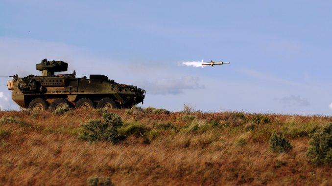 """تمكّن أنظمة """"تاو"""" الصاروخية القوات البرية من تحقيق زيادة في القدرات ضد الأنظمة المدولبة والمدرعة العدوة، بغض النظر عن البيئة أو الظروف (موقع الجيش الأميركي الرسمي)"""