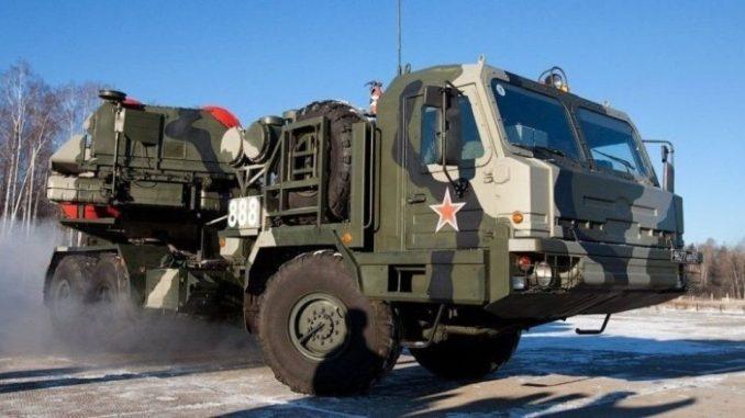 منظومة صواريخ إس-500 للدفاع الجوي (صورة أرشيفية)