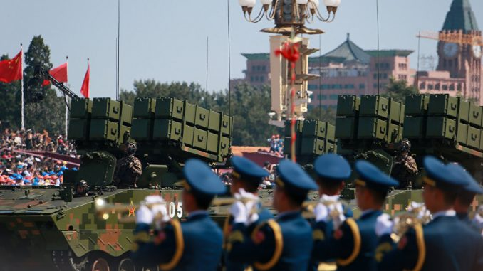 عناصر من القوات المسلّحة الصينية (صورة أرشيفية)
