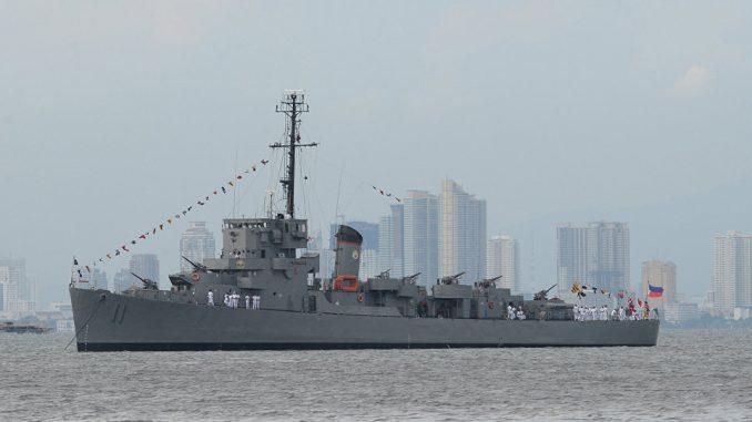 سفينة حربية تايوانية تصل ميناء في نيكاراجوا في 9 نيسان/ أبريل 2018 (وكالة رويترز للأنباء)