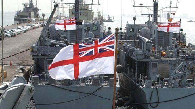 سفن بريطانية