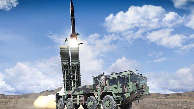"""صاروخ """"بورا"""" البالستي التركي"""