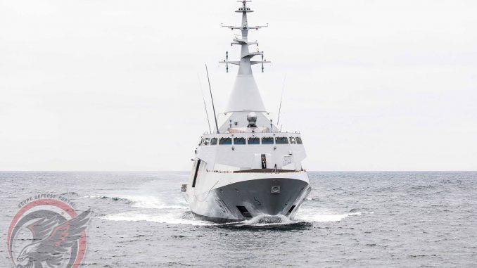 """كورفيت """"غويند 2500"""" من إنتاج شركة """"نافال غروب"""" الفرنسية (بوابة الدفاع المصرية)"""