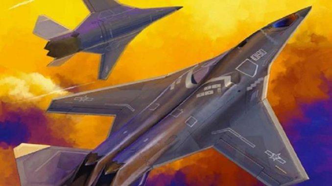 طائرة استراتيجية صينية جديدة