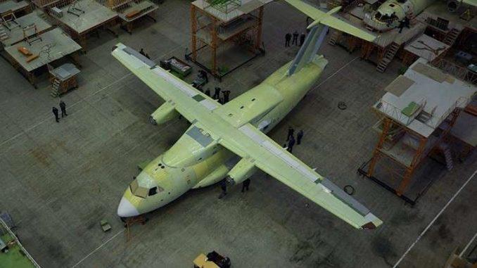 """طائرة النقل """"إل -112"""" (روسيا اليوم - صورة أرشيفية)"""