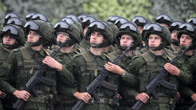 عناصر من القوات المسلّحة الروسية (صورة أرشيفية)