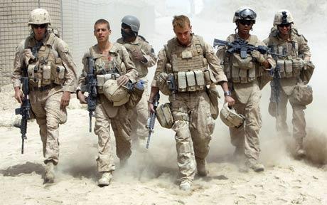 عناصر من القوات المسلّحة الأميركيبة في أفغانستان (رويترز- صورة أرشيفية)