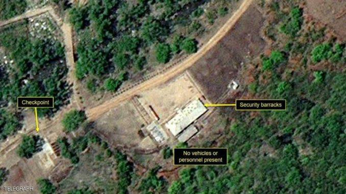 موقع اختبارات نووية في كوريا الشمالية