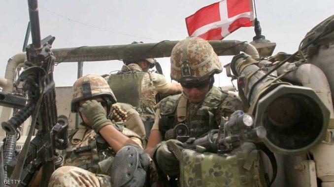 عناصر من القوات الدنماركية