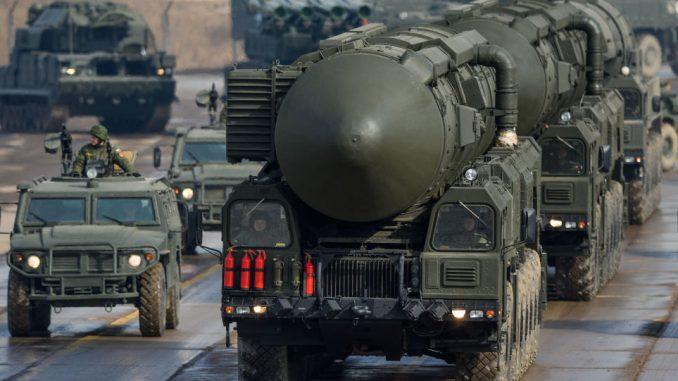 صاروخ توبول-إم النووي الروسي (سبوتنيك - صورة أرشيفية)