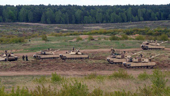 دبابات الأبرامز (صورة أرشيفية)