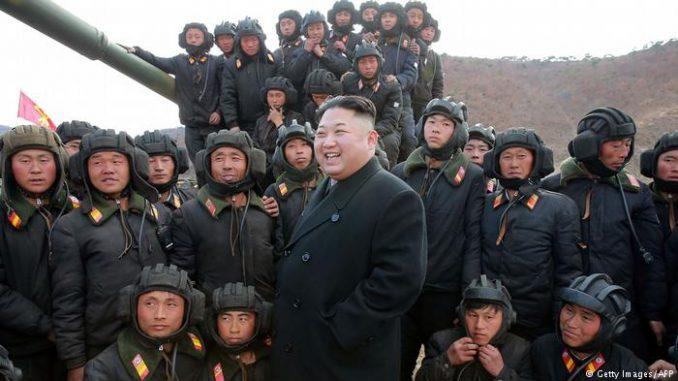 صورة من الأرشيف للزعيم الكوري كيم جونغ أون