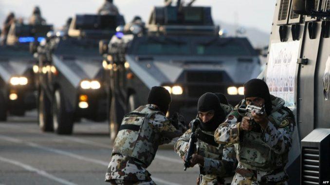 قوات من الأمن السعودية (صورة أرشيفية)