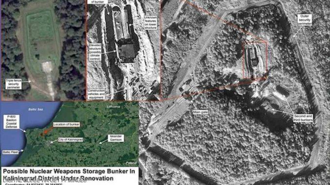 صور الأقمار الإصطناعية تكشف تحديث روسيا مخبأ لتخزين الأسلحة النووية في مدينة كالينينغراد (سكاي نيوز عربية)