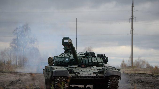 دبابة تي-72 (صورة أرشيفية)