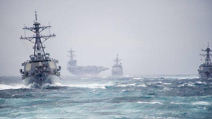 سفن حربية (صورة أرشيفية)