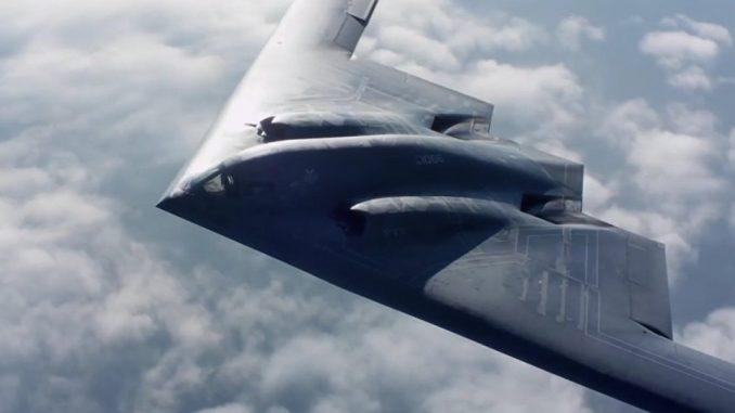 قاذفة القنابل الشبح بي-2 (صورة أرشيفية)