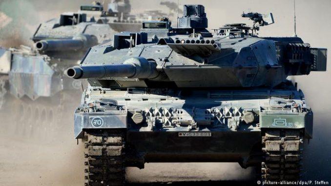 دبابة ليوبارد الألمانية (صورة أرشيفية)