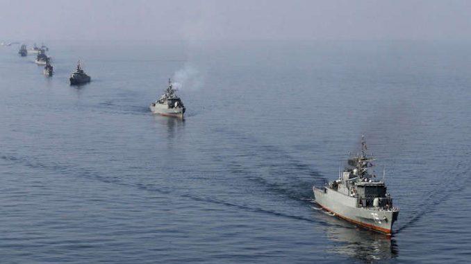 سفن حربية إيرانية (صورة أرشيفية)