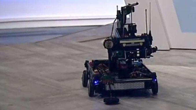 روبوت عسكري مصري جديد