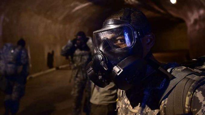 جندي أميركي أثناء تدريبات في كوريا الجنوبية (صورة أرشيفية)