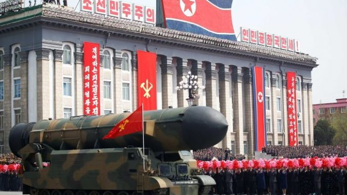 صاروخ كوريا الشمالية النووي