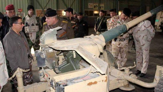 مدفع غروم الذي أعاد العراق تشغيله