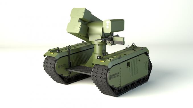 المركبة البرية غير المأهولة THeMIS من شركة إنتاج شركة Milrem Robotics الإستونية (شركة MBDA)
