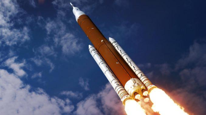 الناسا تطلق صاروخا إلى الفضاء (صورة أرشيفية)