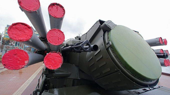 منظومة بانتسير إس-1 الروسية (صورة أرشيفية)