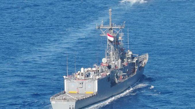 تمارين بحرية عسكرية مصرية- بريطانية مشتركة