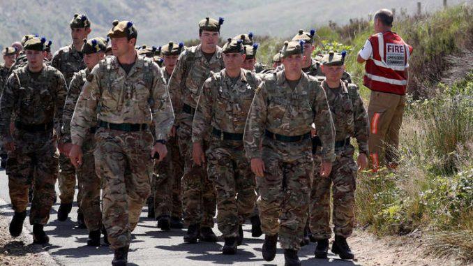 أفراد الجيش البريطاني