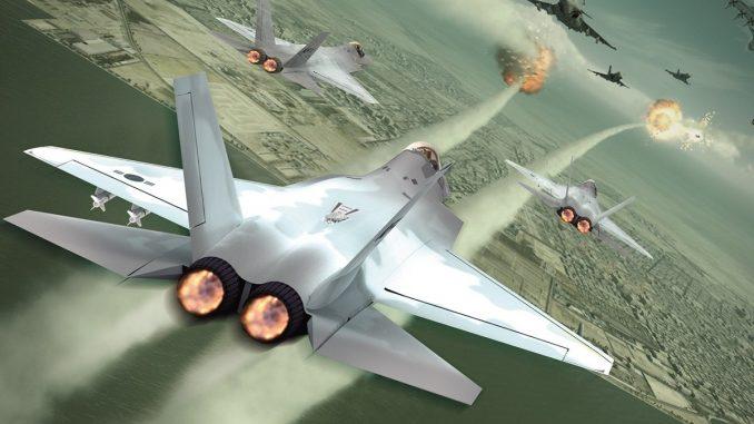 نموذج عن طائرة KF-X الكورية الجنوبية (Korean Aerospace Industries)