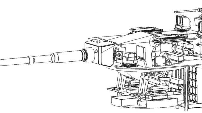 صورة للدبابة الألمانية الجديدة