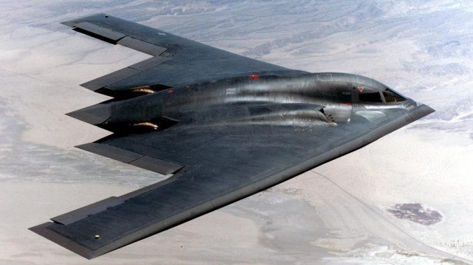 قاذفة القنابل الأميركية B-2