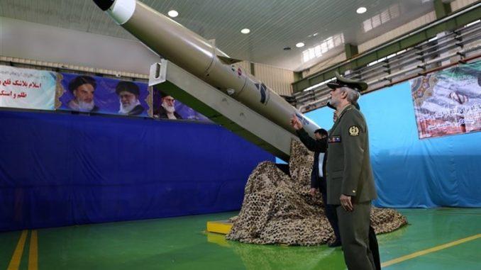 صاروخ فاتح الإيراني (وكالة تسنيم)