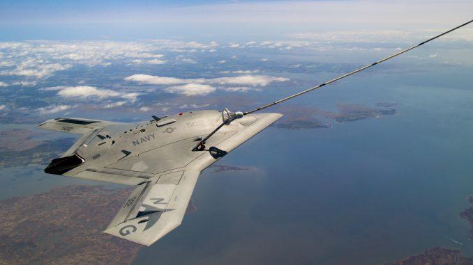 طائرة MQ-25A Stingray من دون طيار (صورة أرشيفية)