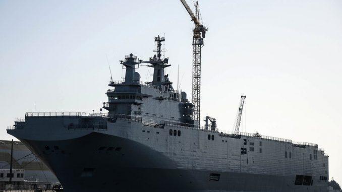 سفينة ميسترال فرنسية