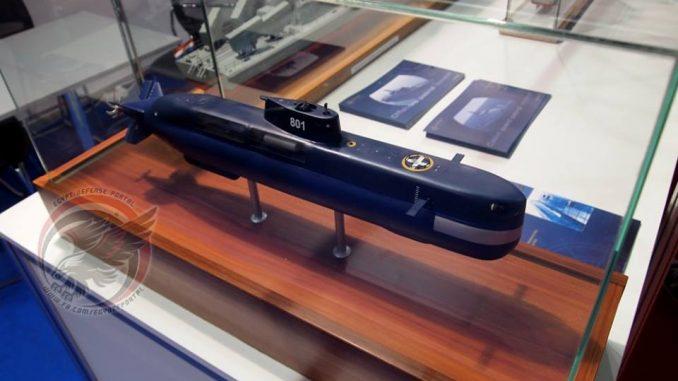 """نموذج عن الغواصة القزمية الكرواتية """"دراكون Drakon 220"""" (بوابة الدفاع المصرية)"""