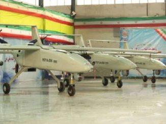 طائرات بدون طيار إيرانية (وكالة فارس للأنباء)