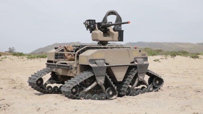 روبوت عسكري (صورة أرشيفية)